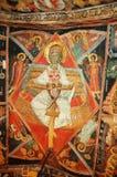 Fresco no monastério búlgaro fotografia de stock royalty free