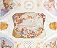 Fresco ochsenhausen Royalty Free Stock Image