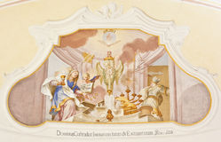 Fresco ochsenhausen Royalty Free Stock Photos