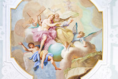 Fresco ochsenhausen Royalty Free Stock Photography