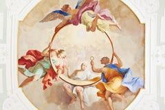 Fresco ochsenhausen Stock Image