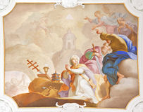 Fresco ochsenhausen Royalty Free Stock Photography