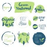 Fresco, orgânico, sem glúten, 100% bio, qualidade superior, localmente Imagens de Stock Royalty Free