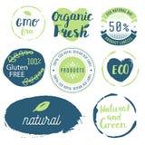 Fresco, organico, il glutine libera, 100% bio-, qualità premio, localmente Fotografie Stock Libere da Diritti