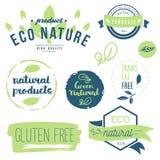 Fresco, organico, il glutine libera, 100% bio-, qualità premio, localmente Fotografie Stock