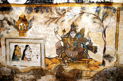 Fresco paintings Stock Images