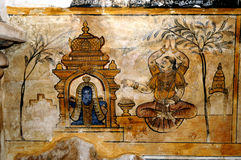 Fresco paintings Royalty Free Stock Images