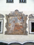 Fresco Radovljica, Eslovenia Fotos de archivo libres de regalías