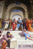 Fresco of Raphael, stanza Stock Images
