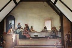 Fresco religioso Fotografía de archivo libre de regalías