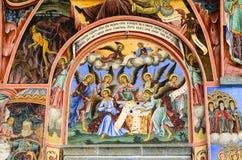 Fresco. In Rila Monastery,Bulgaria i royalty free stock photo