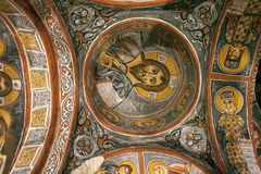 Fresco,rock church in Cappadocia, Turkey, Middle East Stock Images