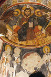 Fresco,rock church in Cappadocia, Turkey, Middle East Stock Photo