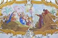 Fresco roggenburg Royalty Free Stock Images
