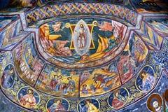Fresco in Romania Stock Photos