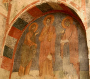 Fresco of Saint Nicholas Church ,Turkey Stock Photos