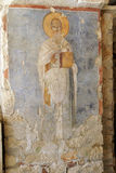 Fresco of Saint Nicholas Stock Image