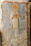Fresco of Saint Nicholas Stock Photography