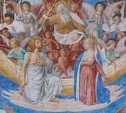 Fresco in San Gimignano, Italy Stock Photography