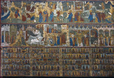 Fresco in temple Stock Images