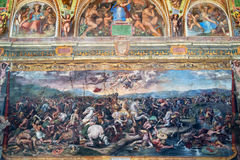The fresco of the 16th century in Vatican Museum Stock Photo