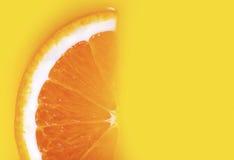 Fresco uma fatia de laranja Imagem de Stock Royalty Free