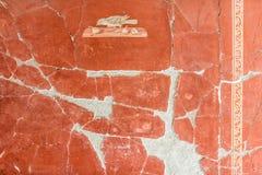 Fresco in villa oplontis Stock Image