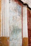 Fresco in villa oplontis Royalty Free Stock Image