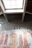 Fresco in villa oplontis Royalty Free Stock Photos