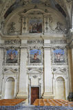 Fresco from Wallenstein Palace loggia from Prague in Czech Republic Royalty Free Stock Photo