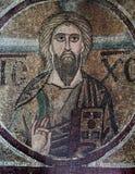 Frescoe在圣徒索菲娅大教堂,基辅,乌克兰里 库存照片