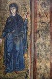 Frescoe in Heilige Sophia Cathedral, Kiev, de Oekraïne Stock Foto's