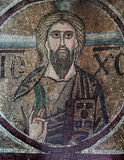 Frescoe im Heiligen Sophia Cathedral, Kiew, Ukraine Stockfotos