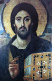 Frescoe of Saint Demetrius, city of Salonica, Greece Royalty Free Stock Photography