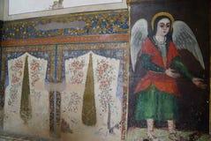 Frescoe in Vank cathedral, Isfahan,Iran. Stock Photos