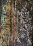 Frescoe w świętego Sophia katedrze, Kijów, Ukraina obraz stock