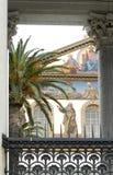 Frescoed стена церков в Риме, Италии Стоковые Фотографии RF