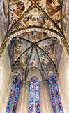 Frescoed Ceiling Arezzo Cathedral Italy Royalty Free Stock Photos