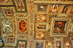 Free Frescoed Ceiling Of The Map Room In The Sistine Chapel In Vatican Royalty Free Stock Photo - 81496445