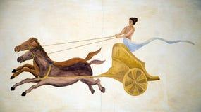 frescoes Arkivfoton