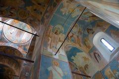 frescoes av Dionysius royaltyfri foto