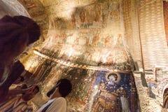 Frescoes Goreme Cappadocia Stock Photos