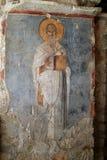 Frescoes kościół St Nicholas Zdjęcia Stock