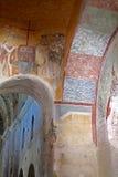 Frescoes kościół St Nicholas Zdjęcie Stock