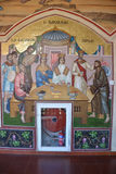 The frescoes in the monastery of Kykkos Royalty Free Stock Image