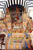 Frescoes from the Monastery of St. John of Rila Royalty Free Stock Images