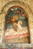 Frescoes of Monastery Sv. Jovan Bigorski, Macedonia Royalty Free Stock Images