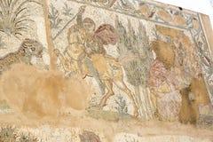 Frescoes på fördärvar av Carthage royaltyfria bilder
