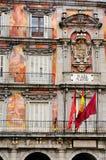 Frescoes på Plazaborgmästare royaltyfri bild