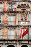 Frescoes on Plaza Mayor Royalty Free Stock Image